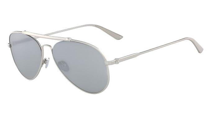 Amazon.com: anteojos de sol CALVIN KLEIN CK 8032 S 045 Satin ...