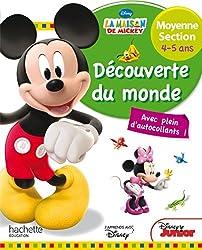 Mickey Découverte du monde Moyenne Section