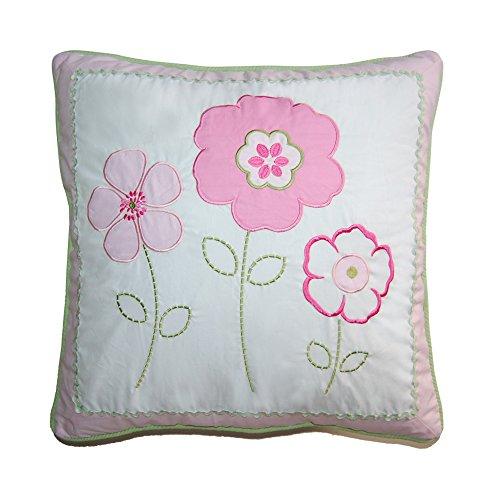 Cozy Line Home Fashions Decorative Pillow Greta Pastel Decorative Throw Pillow, Floral