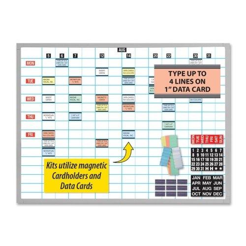 Board Visual Magna Planning - MNVOB2436B - Magna Visual, Inc. Magna Visual Work/Planning Kit
