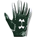 Under Armour boys F6 Youth Football Gloves Forest