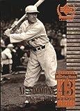 1999 Upper Deck Century Legends Baseball Card #43 Al Simmons Near Mint/Mint