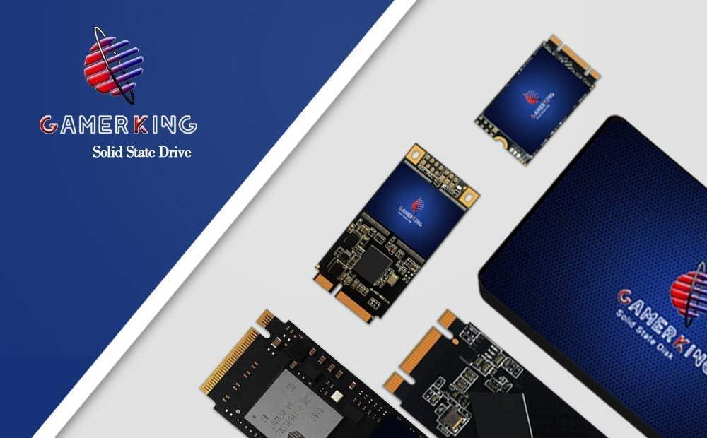120GB, 2.5-SATA Ⅲ Gamerking SSD 120GB SATAIII 2.5 inch 6Gb//s 7MM Internal Solid State Drive for PC Laptop Desktop Hard Drive SSD
