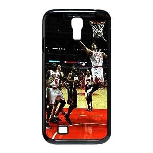 Samsung Galaxy S4 9500 Cell Phone Case Black Chicago Bulls Derrick Rose OJ450870