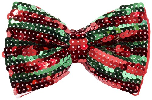 Multi Bowties - Forum Novelties Men's Sequin Bowtie, Multi, One Size