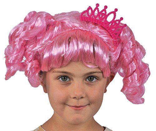 UHC Girl's Lalaloopsy Jewel Sparkles Wig Toddler Child Halloween -