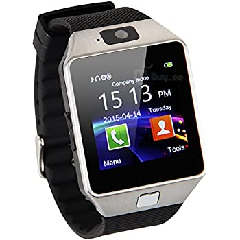 fabf17ff5b46 Buyee Dz09 Smartwatch Smart Card reloj pulsera Smartwatch con podómetro  cámara anti-robo para Iphone