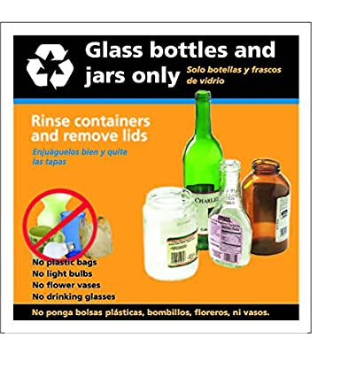 Amazon.com: Recycle Glass and Bottles Decal, Sticker 8.5