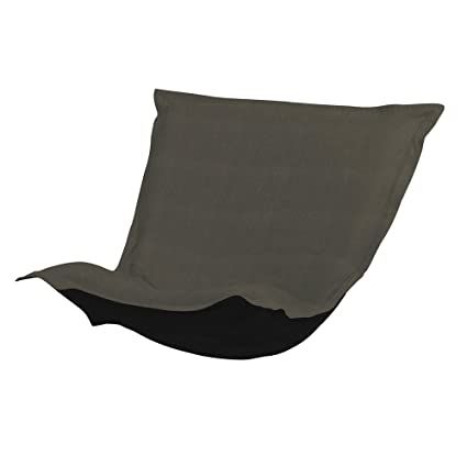 Howard Elliott C300-201 Puff Chair Cover, Sterling Charcoal