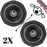 2 NEW Audiopipe TXXBD115 15 4 Ohm 3200W MAX Dual 1600W RMS CAR SUBWOOFERS PAIR