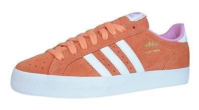orange adidas trainers women