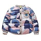 Moonuy Infant Toddler Baby Girls Boys Keep Warm Coat Jacket Camouflage Zipper Warm Winter Coat Kids Parka Down Jacket Coat