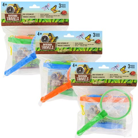 Backyard Adventure Bug Catching Kit - Set of 3