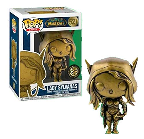 Pop World of Warcraft Lady Sylvanas Gold Blizzcon 2019 Timewalkers Exclusive