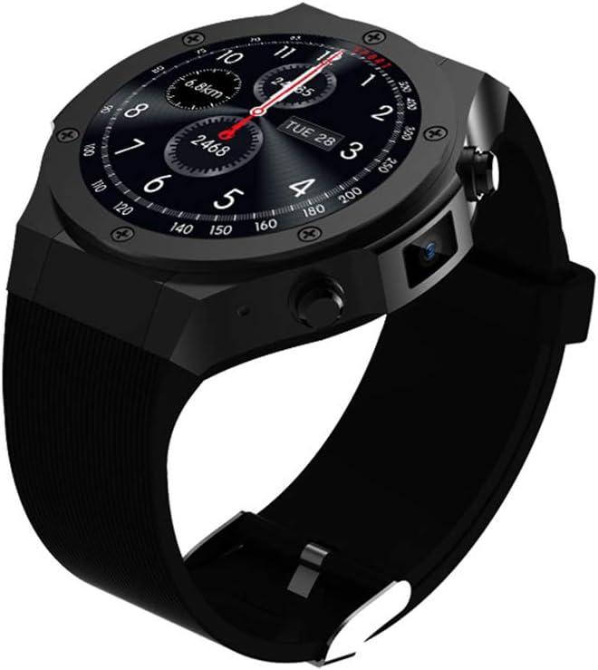 JINRU Smart Watch Tarjeta de teléfono del Estudiante GPS posicionamiento WiFi gestión de la Salud,Black