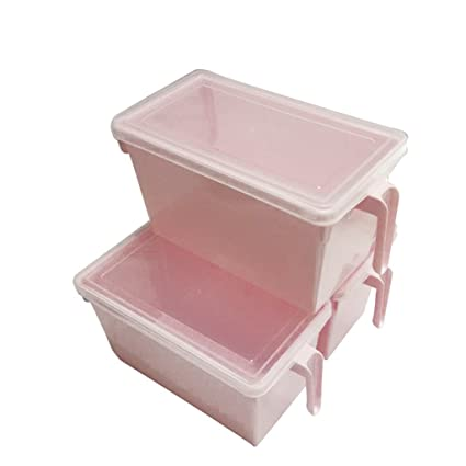 Amazon Com Set Of 3 Clear Kitchen Storage Containers By