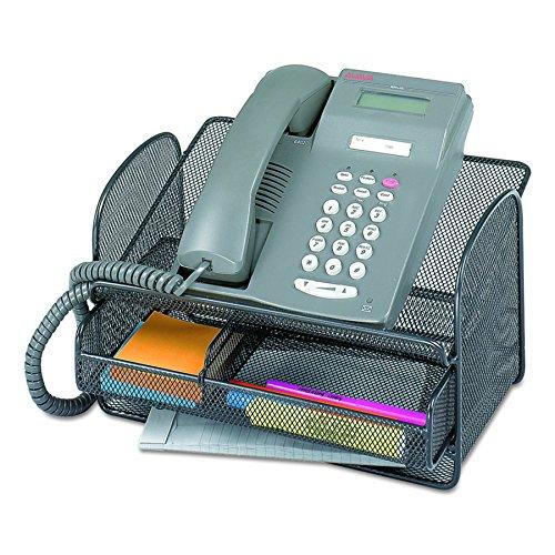 VANRA Metal Mesh Desktop Organizer Telephone Stand Phone Sta