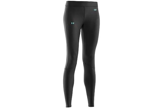 cc14022ac2994e Under Armour Women's UA Base 2.0 Legging, Black/Cortez LG (US 12-14) X 30  at Amazon Women's Clothing store: Athletic Leggings