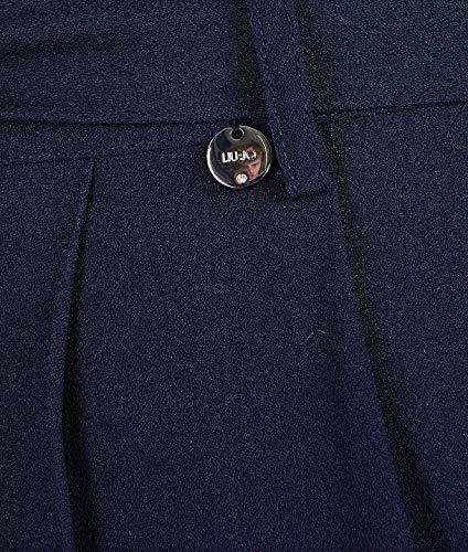 Bleu Pantalon Femme Polyester Jeans W19026t516094010 Liu 1q7tgxw8