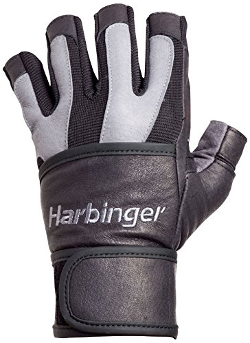 Harbinger BioFlex WristWrap Weightlifting Leather
