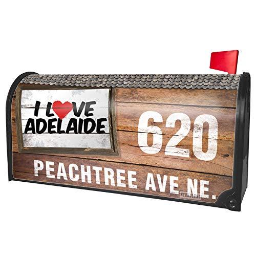 NEONBLOND Custom Mailbox Cover I Love Adelaide]()