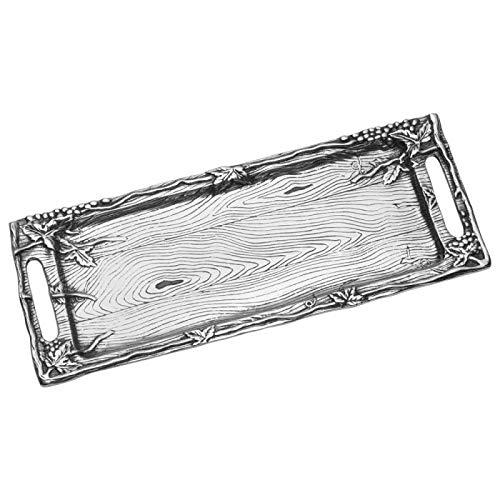 Wilton Armetale Silver Serving Tray Shefinds