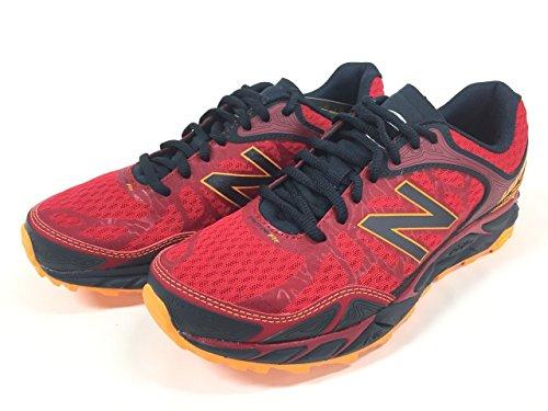 New Balance Men's LEADVILLEV3 Trail Shoe-M, Red/Black, 7.5 D US Review