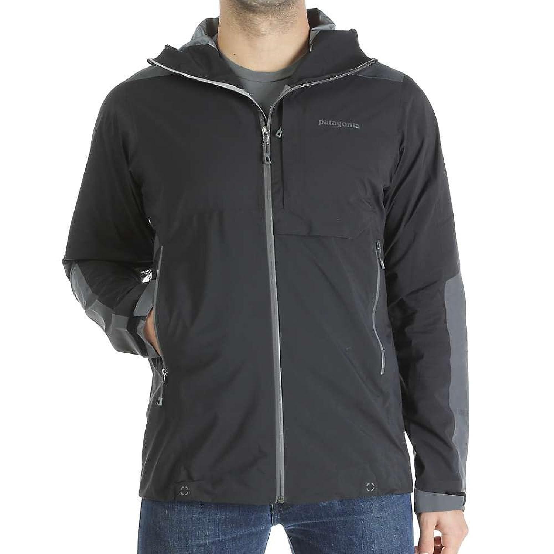 パタゴニア アウター ジャケットブルゾン Patagonia Men's Refugitive Jacket Black 1hn [並行輸入品] B072R456CT
