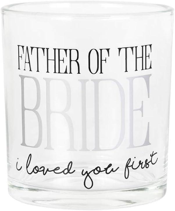 Enesco 6006160 Onim Glass Father of Bride Multi