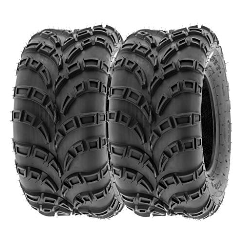 SunF 22x10-10 22x10x10 ATV UTV Trail Race Replacement 6 PR Tubeless Tires A028, [Set of 2]