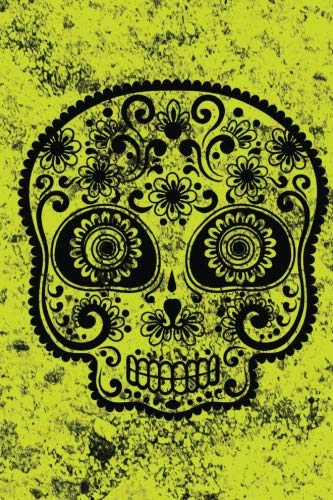 Day Of The Day Sugar Skull Notebook: Dia