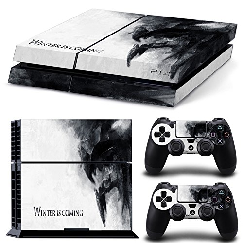 FriendlyTomato PS4 Console and DualShock 4 Controller Skin Set - GOT - PlayStation 4 Vinyl