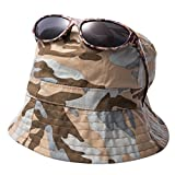 EYEGUARD UV400 Boy's Kids Sunglasses and Jungle Camouflage Sun Hats Combo Children(5-12 years old)