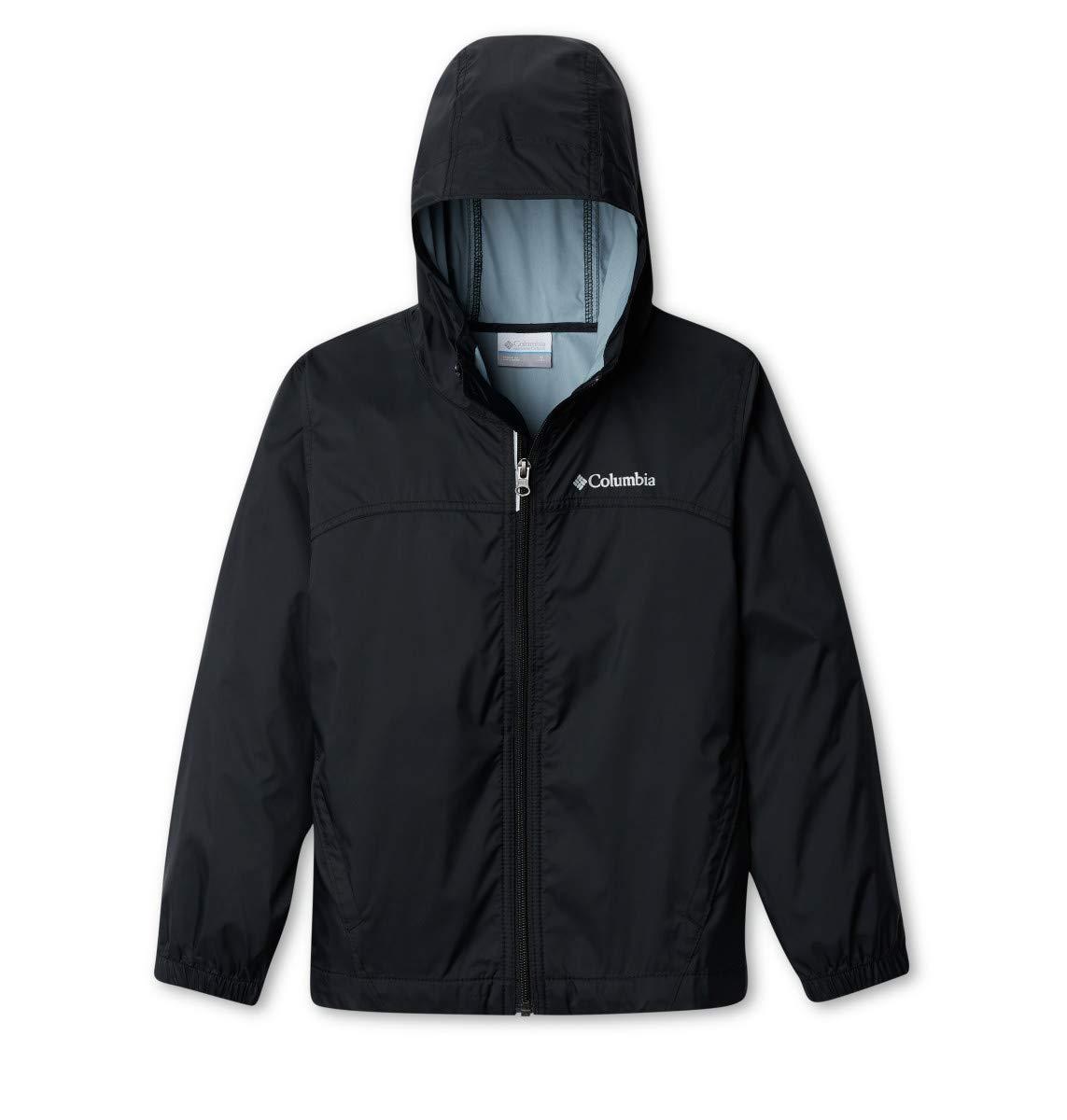 Columbia Big Boys' Glennaker Rain Jacket, Black, Medium by Columbia