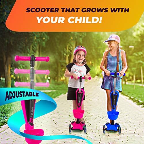 Amazon.com: Patinete infantil Modera con plataforma de 3 ...