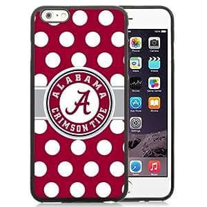 2015 CustomizedEasy Set,Customized Iphone 6 Plus Case Design with Alabama Crimson Tide 2 Iphone 6 Plus TPU 5.5 Inch Black Cell Phone Case