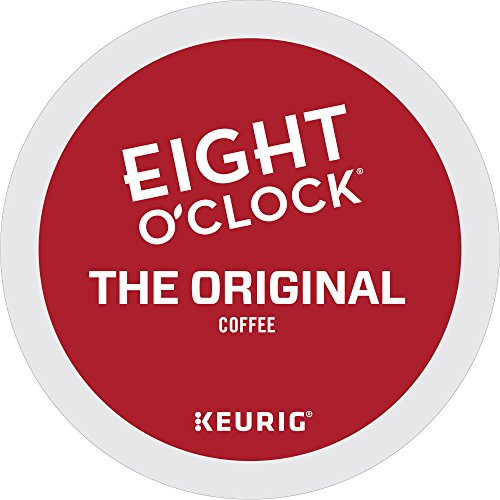 Eight O Clock Coffee The Original Keurig Single Serve K Cup Pods  Medium Roast Coffee  72 Count  6 Boxes Of 12 Pods
