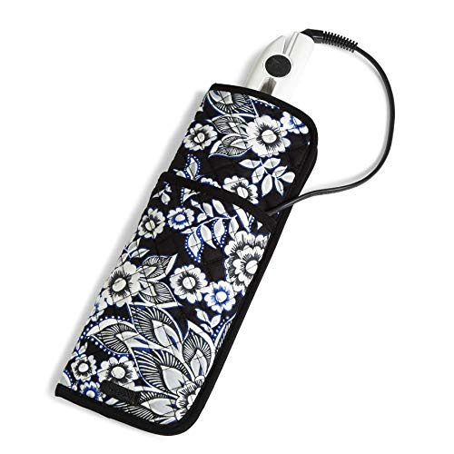 (Vera Bradley Iconic Curling & Flat Iron Cover, Snow Lotus)