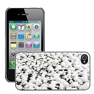Print Motif Coque de protection Case Cover // M00155883 Nevoso nieve Estaciones blanco del // Apple iPhone 4 4S 4G