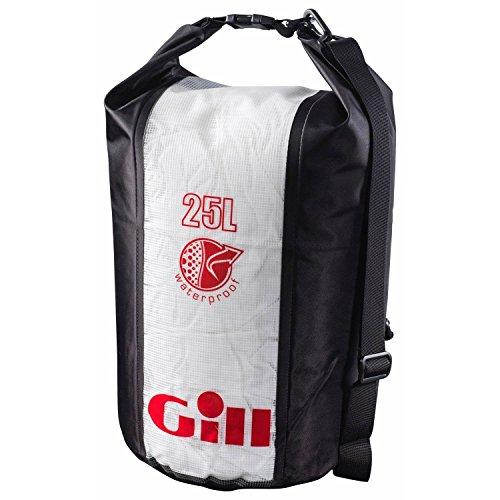 Gill Wet & Dry Cylinder Bag 25l , Color: Jet Black (L053b)
