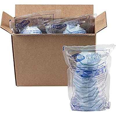 Clorox ToiletWand Disinfecting Refills, Disposable Wand Heads - Rainforest Rush - 30 Count