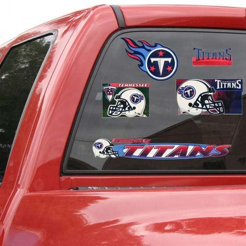 17' Window Cling Decal (Tennessee Titans 11'' x 17'' Window Clings Sheet)