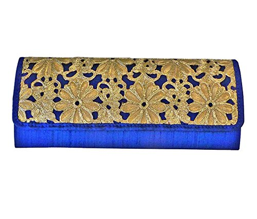 Bhamini - Cartera de mano mujer Azul - azul