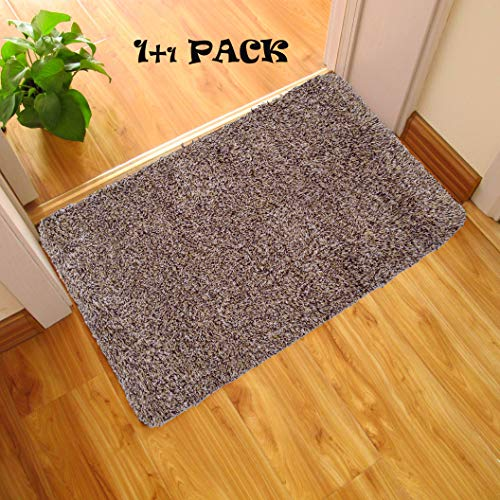 Low Profile Microfiber Mat - Axin Indoor Doormats, Super Absorbs 30