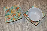 Product review for Map Fabric Set of Two Bowl Cozies Trivets Hot Pads