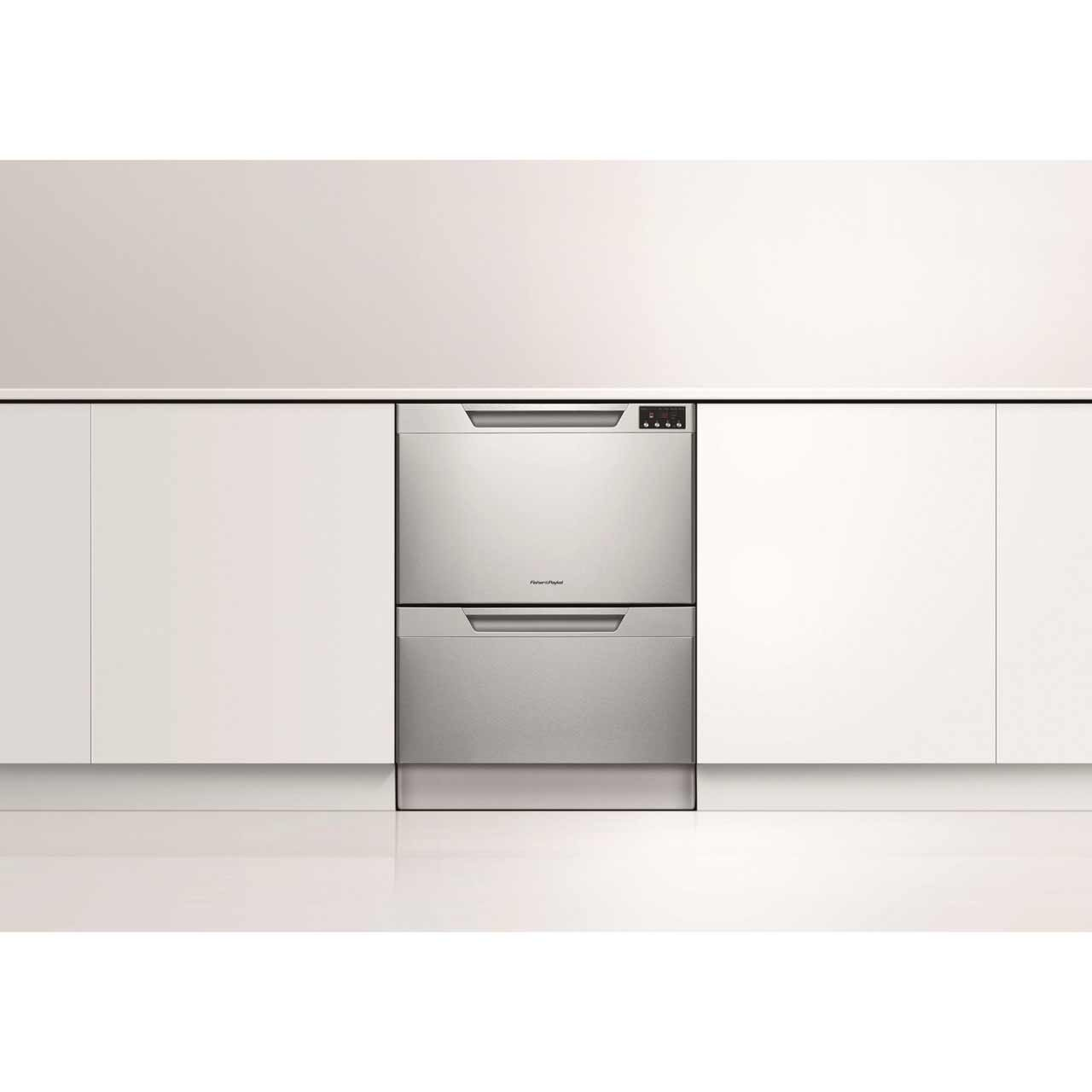 and kitchen exterior dishwashers dishwasher with double paykel dishdrawer drawers appliances harvey fisher