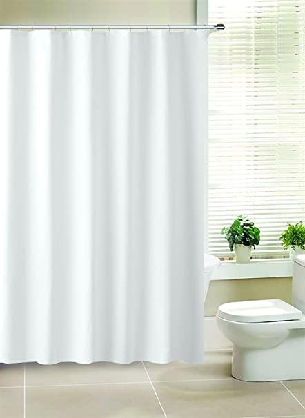 Amazon MINEL PEVA Shower Curtain Mold And Mildew Resistant