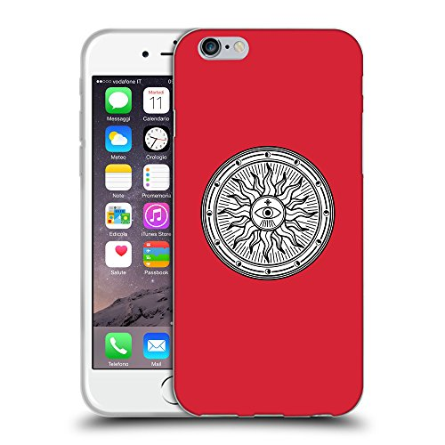 GoGoMobile Coque de Protection TPU Silicone Case pour // Q09660601 Mystique occulte 15 Alizarine // Apple iPhone 7
