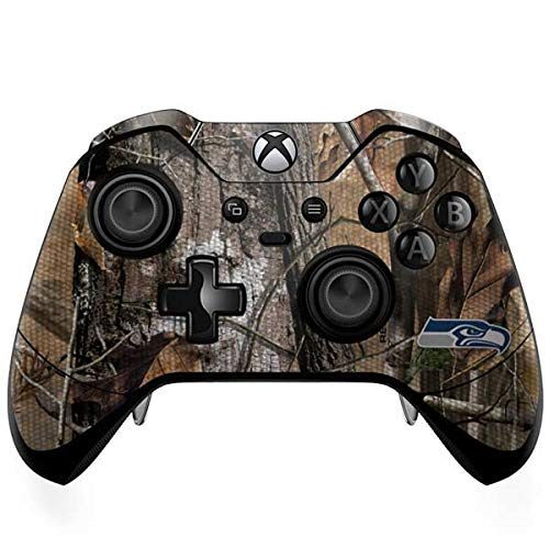 (Skinit Seattle Seahawks Realtree AP Camo Xbox One Elite Controller Skin - Officially Licensed NFL Gaming Decal - Ultra Thin, Lightweight Vinyl Decal Protection)