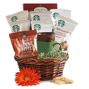 Amazon starbucks coffee starbucks gift basket gourmet starbucks coffee starbucks gift basket solutioingenieria Choice Image